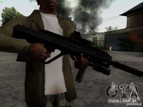 AUG-A3 Special Ops Style para GTA San Andreas terceira tela