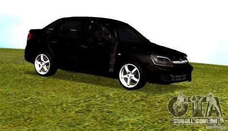 LADA Granta v 2.0 para GTA San Andreas vista interior