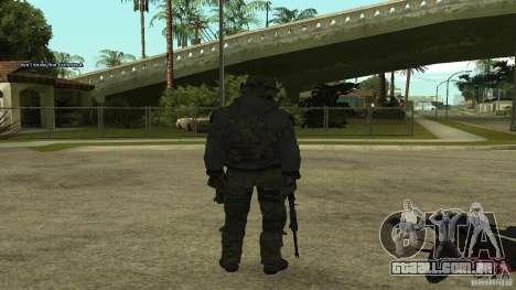 Roach from CoD MW2 para GTA San Andreas segunda tela