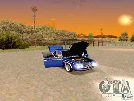 BMW 30 CSL Drift para GTA San Andreas vista direita