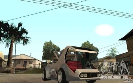 Lil Redd Wrecker para GTA San Andreas vista traseira