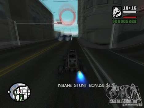 Salão do automóvel para GTA San Andreas oitavo tela