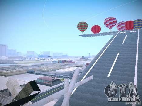 A possibilidade de substituir timecyc no SA: MP para GTA San Andreas por diante tela