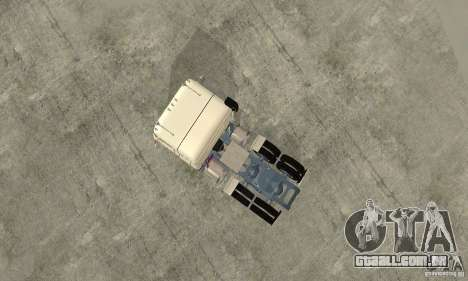 International Transtar II Custom 1975 para GTA San Andreas vista traseira