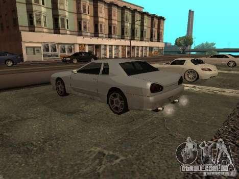 Elegia padrão para GTA San Andreas esquerda vista