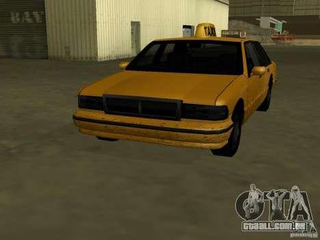 Textura realista do carro original para GTA San Andreas segunda tela