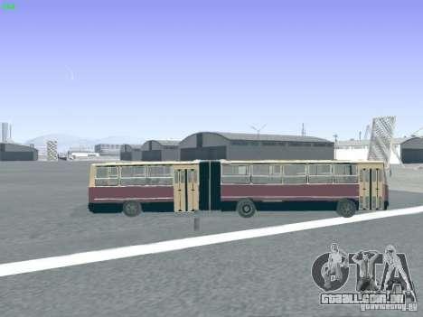 Trailer de Ikarus 280.03 para vista lateral GTA San Andreas