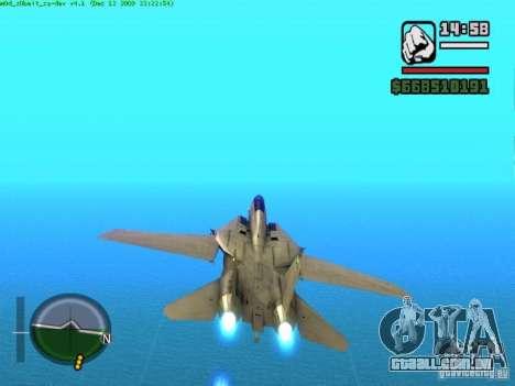 F 14 A TOMCAT para GTA San Andreas