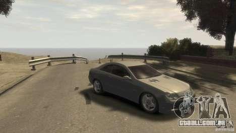 Mercedes-Benz CLK 63 AMG para GTA 4 vista direita