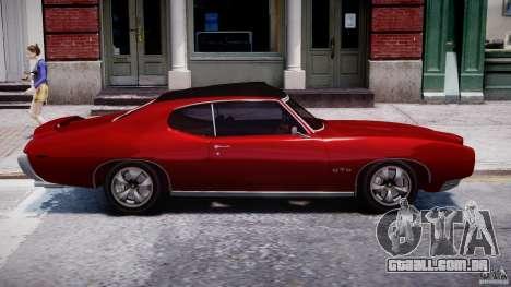 Pontiac GTO 1965 v1.1 para GTA 4 vista interior