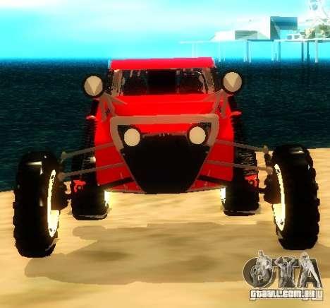 Buggy V8 4x4 para GTA San Andreas vista direita