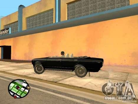 2105 Vaz show v 1.3 para GTA San Andreas traseira esquerda vista