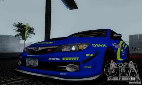 2008 Subaru Impreza Tuneable para o motor de GTA San Andreas