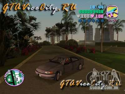 Opel Omega de GTA 3 para GTA Vice City