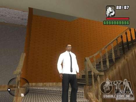 Camisa com gravata para GTA San Andreas