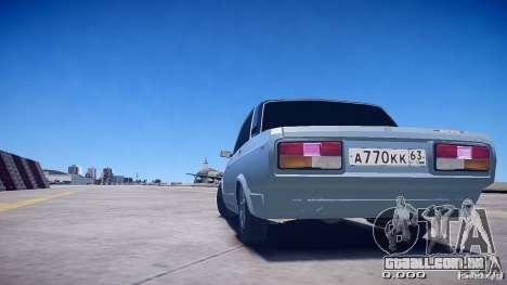 2105 VAZ v 2.0 para GTA 4 esquerda vista