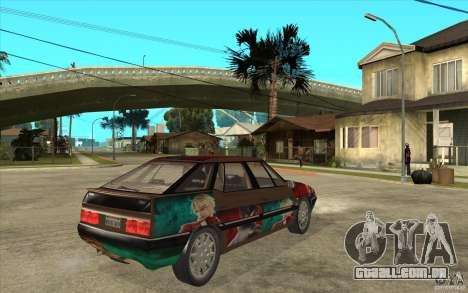 Citroen XM Custom para GTA San Andreas vista direita