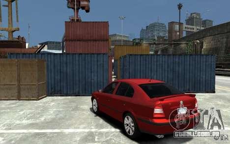 Skoda Octavia v.1.0 para GTA 4 vista lateral