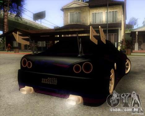 Elegy 0.2 para GTA San Andreas vista traseira