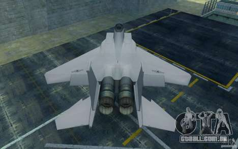 F-15 para GTA San Andreas vista direita