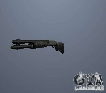 Armas de Pak poligonais altas para GTA San Andreas terceira tela