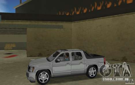 Chevrolet Avalanche 2007 para GTA Vice City deixou vista