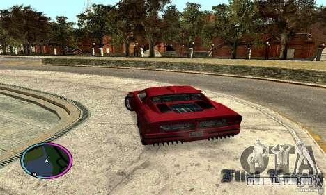 Axis Piranha Version II para GTA San Andreas esquerda vista