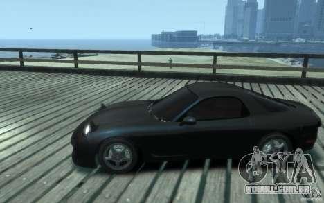 Mazda RX-7 v1 para GTA 4 esquerda vista