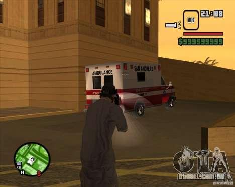 Sinos e assobios para armas para GTA San Andreas décimo tela