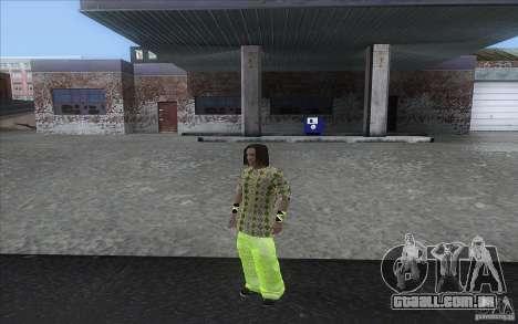 Rasta ped para GTA San Andreas terceira tela