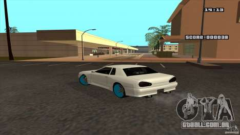 Drift Elegy by KaLaSh para GTA San Andreas esquerda vista