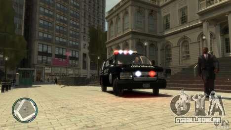 Noose Van V3 para GTA 4 traseira esquerda vista