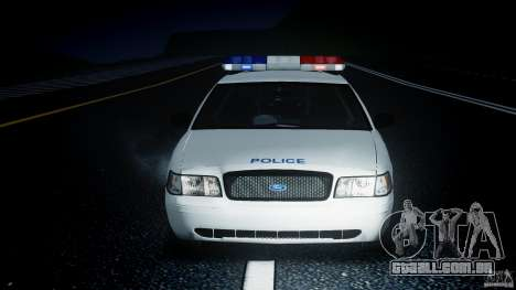 Ford Crown Victoria CVPI-V4.4M [ELS] para GTA 4 vista lateral