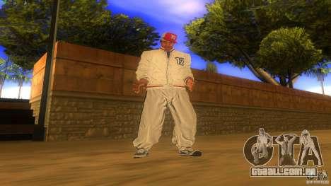 BrakeDance mod para GTA San Andreas quinto tela