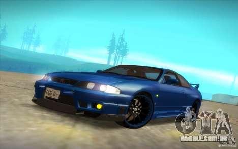 Nissan Skyline R33 GT-R V-Spec para GTA San Andreas vista superior