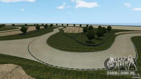 Dakota Raceway [HD] Retexture para GTA 4 nono tela