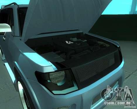 Mitsubishi Pajero STR I para GTA San Andreas traseira esquerda vista