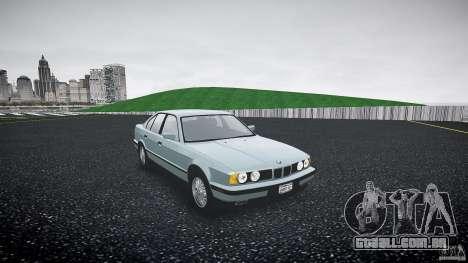 BMW 535i E34 para GTA 4 vista direita