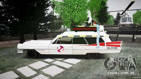 Cadillac Ghostbusters para GTA 4 esquerda vista