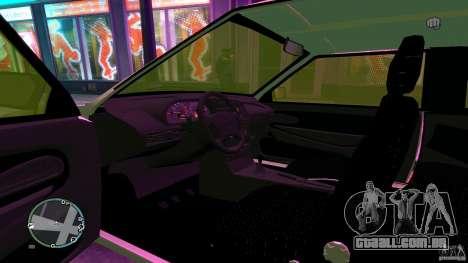 VAZ 2113 para GTA 4 vista de volta