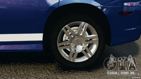 Dodge Charger Unmarked Police 2012 [ELS] para GTA 4 vista superior