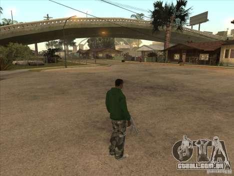 Teleportar para um marcador para GTA San Andreas segunda tela