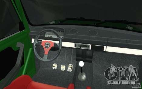 Esporte de Lada VAZ-2101 para GTA San Andreas vista superior