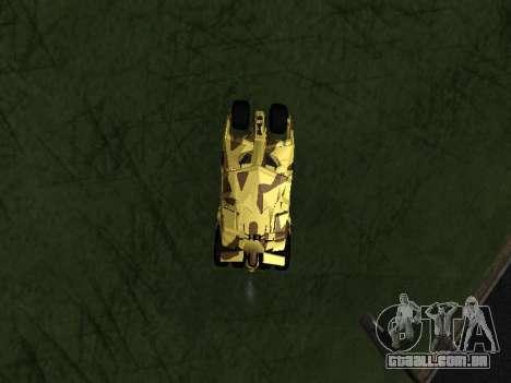 Army Tumbler v2.0 para GTA San Andreas vista direita