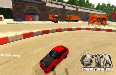 Drift de Londres para GTA San Andreas segunda tela
