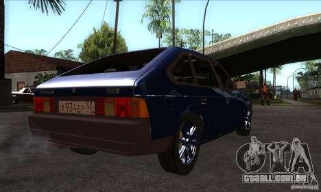 2141 AZLK pessoas edição para GTA San Andreas vista direita