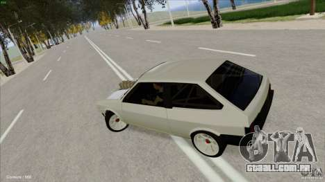 ВАЗ 2108 Sport para GTA San Andreas vista interior