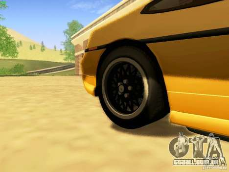 Pontiac Fiero V8 para GTA San Andreas vista direita
