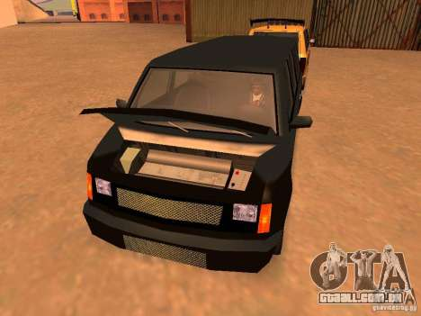 Moonbeam NN para GTA San Andreas vista traseira