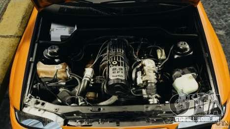 Ford Escort RS Cosworth para GTA 4 vista interior
